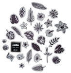 Stampo Scrap stempels - Jungle, 30-delig