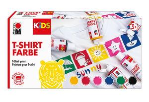 Marabu Kids T-Shirt Farbe, 6 er Set