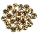 Metallschellen 25 Stück, 15mm, gold