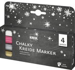 Chalky Kreidemarker, 4er-Set Winter