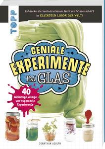Livre expériences géniales dans un verre