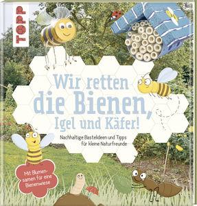 Livre Sauvons les abeilles, hérissons & scarabées