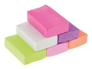 Modelliermasse für Radiergummis - Pastell