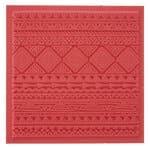 Textuur mat - Etno (9 x 9 cm)