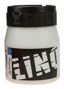 Linoldruckfarbe, 250 ml weiß