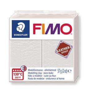 FIMO effect Leder, 57 g elfenbein