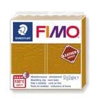 FIMO leereffect boetseerklei (57 g) okergeel