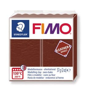 FIMO leereffect boetseerklei (57 g) noten
