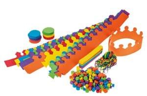 Mega knutselpakket - creatief met foam, 296-delig