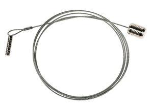 Metalen kabel met 8 magneten, ca. 1,50 m