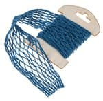 Ruban en maille, env. 13x100cm, bleu