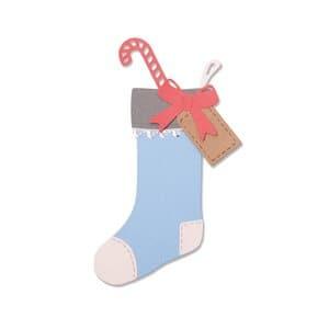Sizzix Thinlits Die - Christmas Stocking, 7 stuks