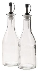 Glazen olie- & azijnstel (65 x 220 mm) 300 ml