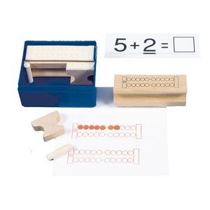 Tampons de calcul, set de 6 pièces