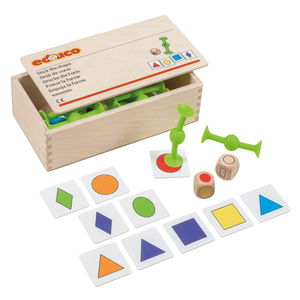 Educatieve set - combineren van vormen en kleuren