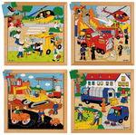 Puzzles XL - De l'action dans les rues, 4 pièces
