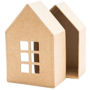 Paper-Art Box Haus, ca. 90x50x140mm