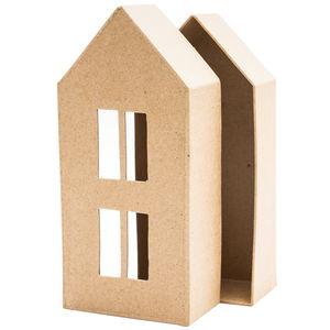 Paper-Art Box Haus, ca. 90x50x200mm
