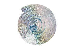 Decoratie spiralen - Holografisch, 6 stuks