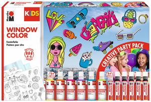 Marabu Kids Window Color-Partyspaß