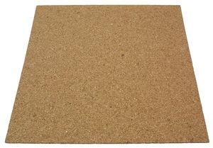 Kurkplaat - geperst (4 x 500 x 500 mm)