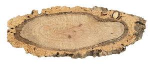 Boomschors kurkschijven, 15/20x10/12cm, 12 stuks
