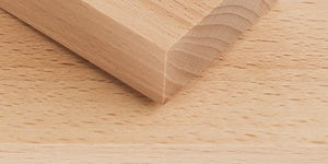 Découpes en hêtre/bouleau , 40 x 120 mm