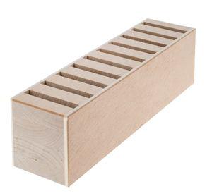 Bloc casier à outils en bois, Pour sc...,