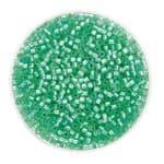 Delica Beads (2 mm), 7 g lindgrün