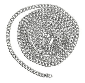 Chaîne mailles en métal, San..., 4 mm (ø)