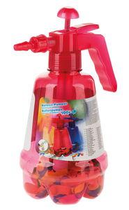 Bomba de aire con 100 globos, color aleatorio