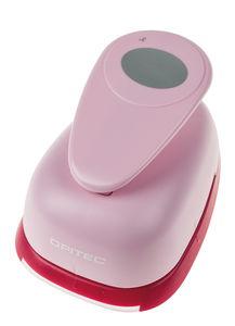 OPITEC Motivstanzer XXL, Oval (rosa)