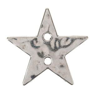 Pendentif en métal - Etoile, Couleur:...,
