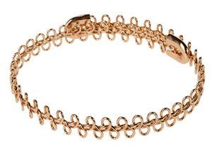 Brazalete de metal - Bucle, color oro
