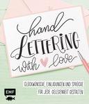 Livre 'Lettrage à la main - avec amour'