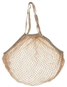 Baumwoll-Netztasche naturfarben (48 x 35 cm)