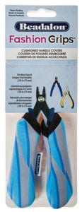 Beadalon® Fashion Grip, Motif tigré bleu