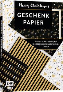 Duits boek: Geschenkpapier Set - Merry Christmas