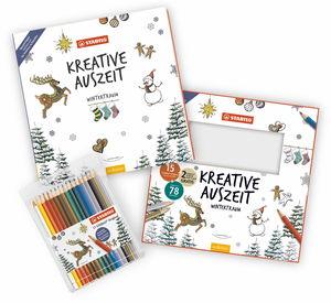 STABILO potloden/kleurboek set - Wintertijd