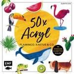 Buch '50x Acryl Flamingo, Kaktus & Co.'
