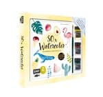 Starterset 50x Watercolor - Flamingo, Kaktus & Co.