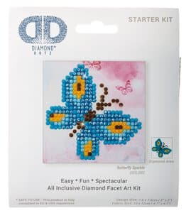 Diamant painting set - Vlinder