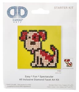 Diamant painting set - Hond