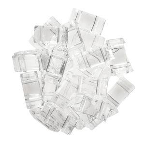 Perles en plastique, 30 pièces (18x18,6x5 mm)