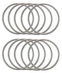 Metallzwischenteil Ring, 10 Stück (35 mm)