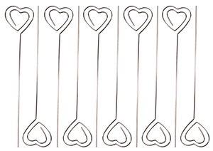 Memohouders - Hart (12 cm) 10 stuks