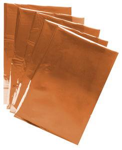 Koperfolie (300 x 210 x 0,1 mm) 5 stuks