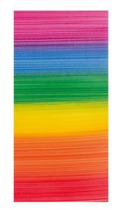 Versierwasplaat - Regenboog (20 x 10 cm) bont