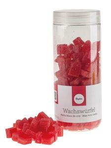 Bloque de cera, 150 g, rojo