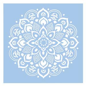 Schablone Mandala (30,5 x 30,5 cm)